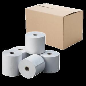 Caja de Rollos de Papel Térmico para Impresoras POS por 60 Unidades (80mm x 60mts x 55gr)